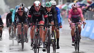 João Almeida na décima segunda etapa do Giro