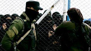 Suriye'nin kuzeyinde çoğunluğunu IŞİD militanı tutuklular ve ailelerinin oluşturduğu el Hol kampı