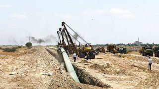 عملیات احداث خط لوله انتقال نفت خام گوره به جاسک