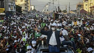 Conde, Diallo campaign in Conakry ahead of Sunday's vote
