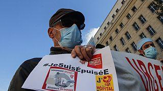 Manifestation des soignants à Paris, 15 octobre 2020
