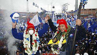 Luis Arce ficou em segundo lugar nas eleições que há um ano foram anuladas