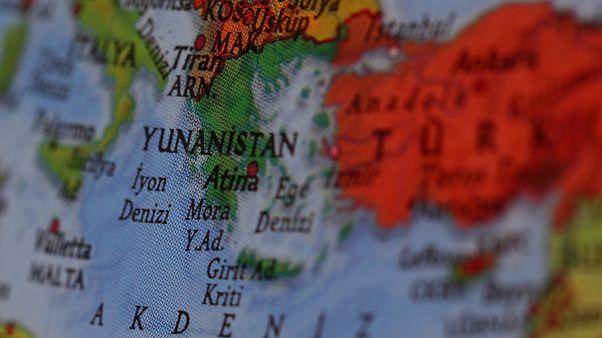 Doğu Akdeniz haritası/Arşiv