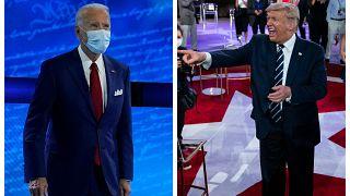 """Trump y Biden se disputan el """"prime time"""" tras anular el debate virtual"""