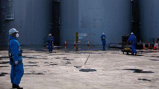 Fukushima Dai-ichi nükleer santrali