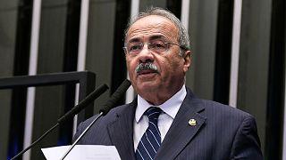 Brezilyalı Senatör Chico Rodrigues'in iç çamaşırında para sakladığı ortaya çıktı