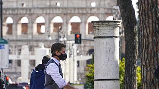 Tom Cruise bei Dreharbeiten in Rom