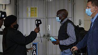 testhőmérséklet-ellenőrzés Dél-Afrikában