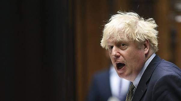 Britain's Prime Minister Boris Johnson.