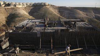 İsrail, Batı Şeria'da 'uluslararası hukuka aykırı' yerleşim alanı oluşturmakla eleştiriliyor
