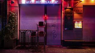 The 'Himmelreich' (kingdom of heaven) bar is closed in the Friedrichshain district in Berlin, Germany, late Wednesday, Oct. 14, 2020