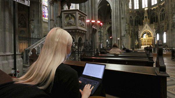 Lernen in der Votivkirche