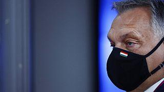 Orbán Viktor az EU-csúcson