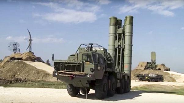 Rus yapımı S-400 hava savunma sistemi