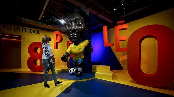 Zum 80. Geburtstag: Riesenstatue für Fußballgott Pelé