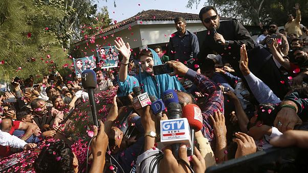 Pakistanlı siyasetçi Meryem Navaz