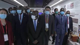 50 African Diplomats on Anti-Covid-19 Visit to China's Sinopharm