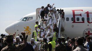 انتهاء أكبر عملية لتبادل الأسرى في اليمن