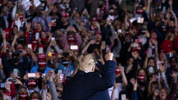 Donald Trump s'est rendu vendredi 16 octobre en Géorgie et en Floride.