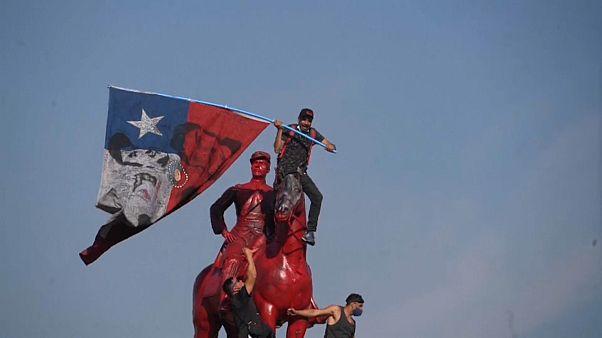 مظاهرات في التشيلي