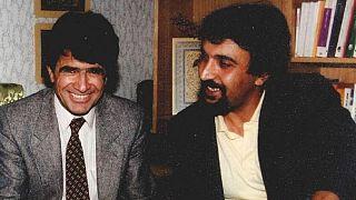 حمید متبسم، آهنگساز و نوازنده تار و سهتار در کنار استاد شجریان
