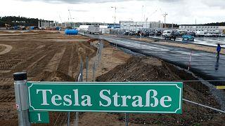 A Tesla épülő gigagyára Grünheidében