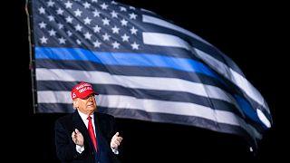 گردهمایی انتخاباتی دونالد ترامپ در ایالت ویسکانسین