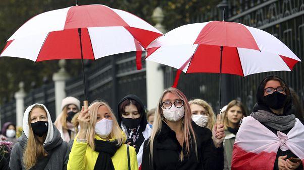 Kundgebung in Minsk