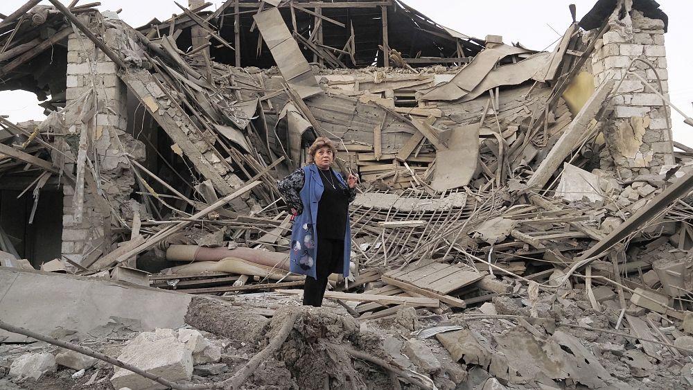 Euronews nella zona del conflitto in Nagorno-Karabakh cover image