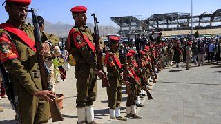 القوات اليمنية المدعومة من إيران