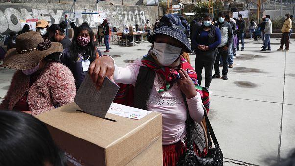 Голосование в Ла-Пасе