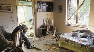 Zerstörung in Bergkarabach