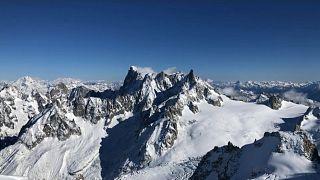 Κινδυνεύει το Λευκό όρος των Άλπεων λόγω της κλιματικής αλλαγής