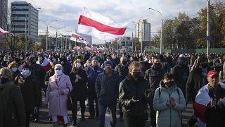 Belarus'ta gösteriler