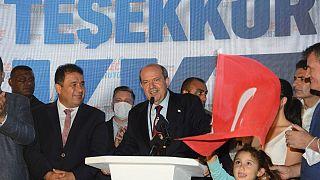 KKTC'de Cumhurbaşkanlığı seçiminin galibi Ersin Tatar