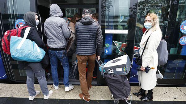 Die Tram nach Frankreich in Kehl