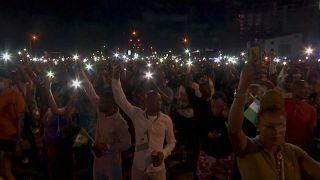 Nigerians Remember Those Lost to Police Brutality in #EndSARS Vigil