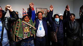 پیروزی نامزد جناج چپ در انتخابات ریاست جمهوری بولیوی