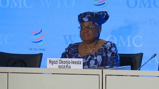 WTO: Ngozi Okonjo-Iweala makes the run-off