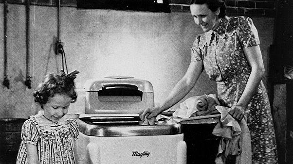 Amerikai mosógép 1941-ből (illusztráció)