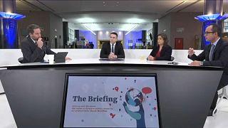 MEPs speak to Euronews' Political Editor, Darren McCaffrey, during a debate on the EU & Health in the European Parliament