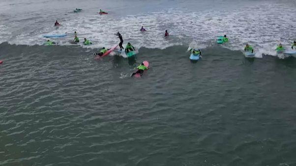 Covid-19: boom di surfisti in Danimarca