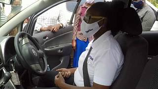 Uganda's Empowering All-Female Diva Taxi Service Takes On Pandemic