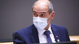 Slovenia's Prime Minister Janez Jansa attended an EU summit last week amid the worsening coronavirus pandemic.