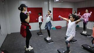 أكاديمية رياضة الفتيات في طرابلس