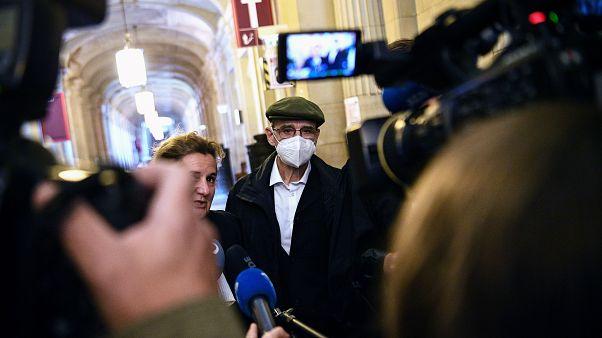 Josu Ternera et son avocate au palais de justice de Paris, le 19 octobre 2020, Paris, France