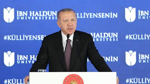 Cumhurbaşkanı Recep Tayyip Erdoğan, İbn Haldun Üniversitesi Külliyesi Açılış Töreni'ne katılarak konuşma yaptı.