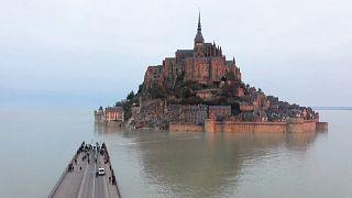 Quand le Mont-Saint-Michel s'isole