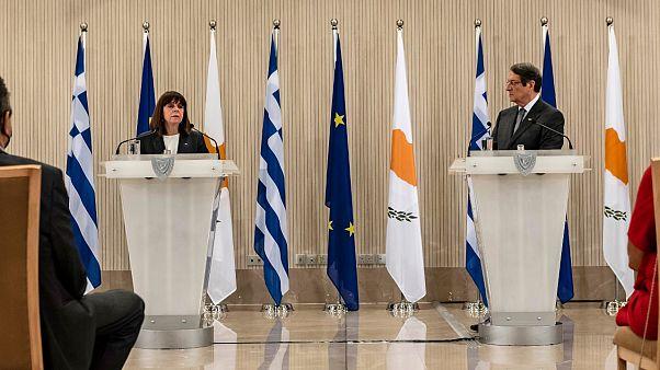 Yunanistan ve Kıbrıs Rum Kesimi'nden Cumhurbaşkanı Ersin Tatar'a mesaj