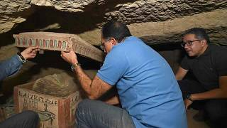 Mısır Başbakan Mustafa Badbouly bölgede bulunan tarihi eserleri inceledi